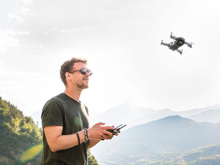 Características básicas de cámaras para drones profesionales